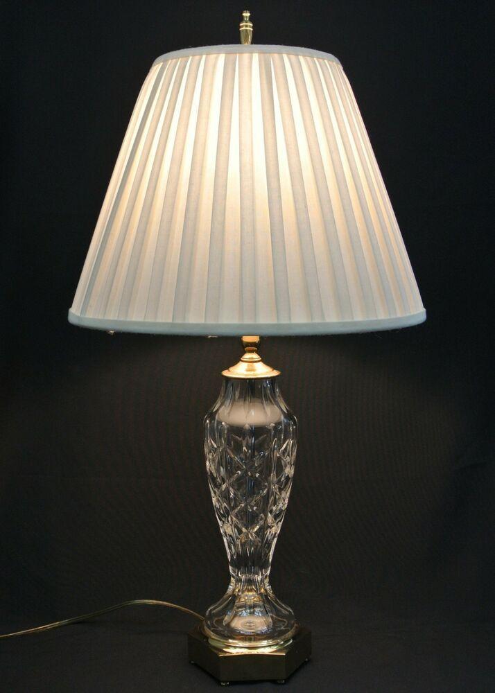 Waterford Crystal 26 Evanwood Table Lamp Waterford