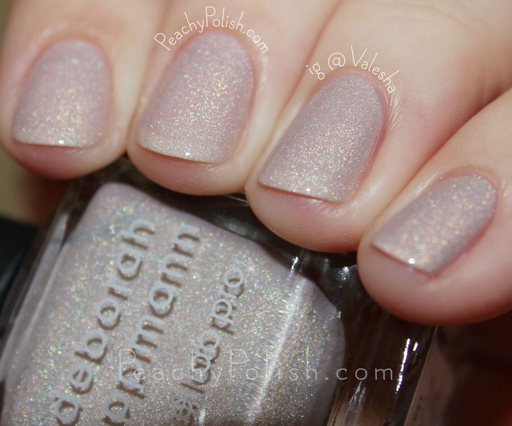 Deborah Lippmann Dirty Little Secret | Spring 2016 Gel Lab Pro Collection | Peachy Polish