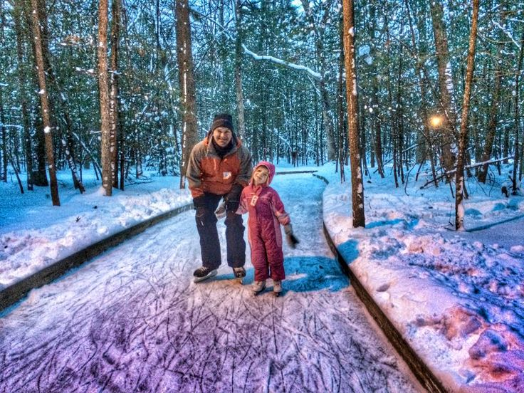 Michigan's Best Places to Sled, Ski, Skate, Snowshoe