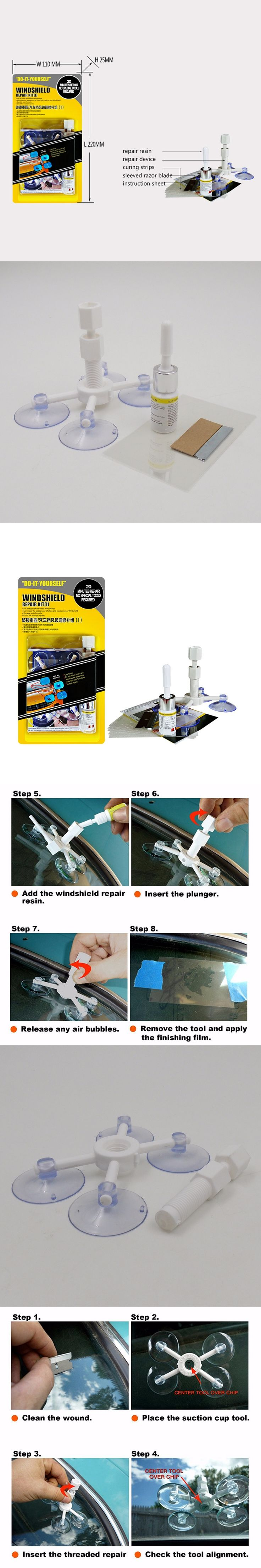 The 9 best car wash maintenance images on pinterest newest diy car automobile windshield repair kit tools auto glass windscreen repair set give door solutioingenieria Gallery