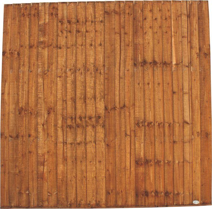 Superior Closeboard Fence Panel (W)1.83m (H)1.5m | Departments | DIY at B&Q