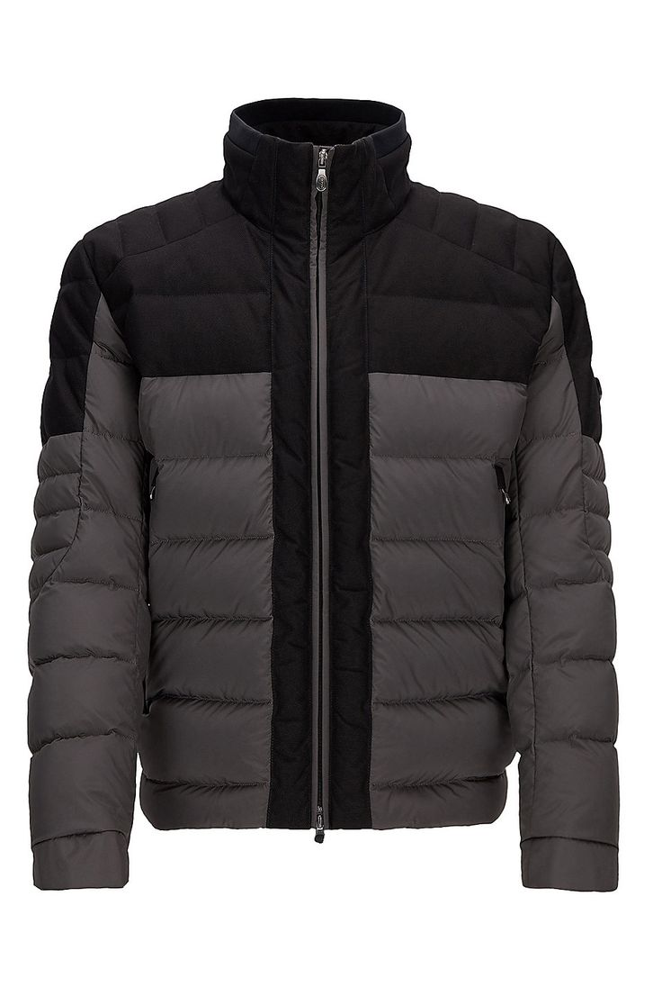 Nylon Quilted Jacket | Jonkins Grey from BOSS Green for Men for $645.00 in  the official. Hugo Boss OnlineQuilted ...