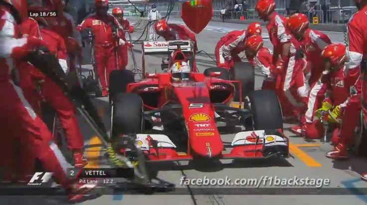F1 Pit Stop Challenge At The Malaysian Grand Prix (VIDEO)