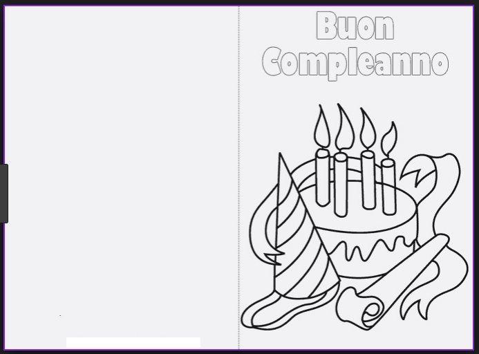 Biglietti Di Auguri Da Stampare E Colorare Biglietti Di Buon Compleanno Biglietti Di Compleanno Auguri Di Compleanno
