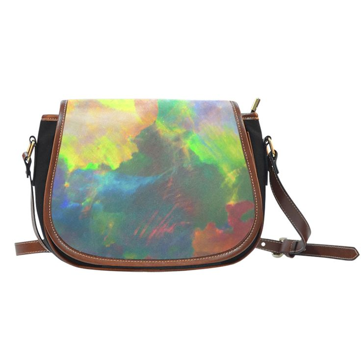 Saddle Bag - Black Opal