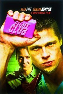 Fight Club (1999) Poster - An insomniac office worker looking for a way to change his life crosses paths with a devil-may-care soap maker and they form an underground fight club that evolves into something much, much more