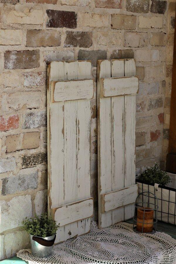 Home Improvement In 2020 Shutter Wall Decor Shutter Wall Farmhouse Shutters