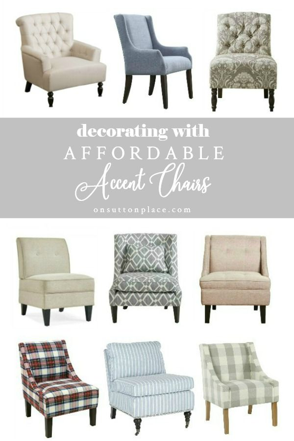 5 Easy Tips For Decorating With Accent Chairs On Sutton Place In 2020 Classic Living Room Decor Accent Chairs Accent Chairs For Living Room