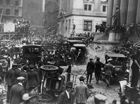 Wall Street Bombing, United States (September 16, 1920)