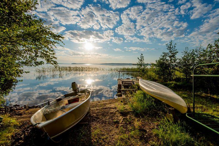 Weitreichende, unberührte Natur, spannende Abendteuer, sportliche Aktivitäten in See und Wald, Kunst und Kultur - bester Ferienhausurlaub in Savonlinna