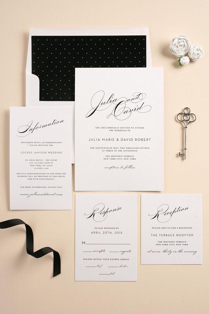 Vintage Glam Wedding Invitations | Glam wedding invites, Vintage glam wedding  invitations, Kate spade wedding invitations
