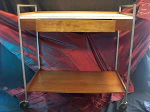 Herman Miller Beverage Cart