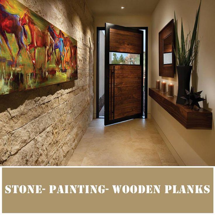 Transform a lacklustre hallway into a stunning corridor with cool texture correct lighting beautiful grand foyerwood