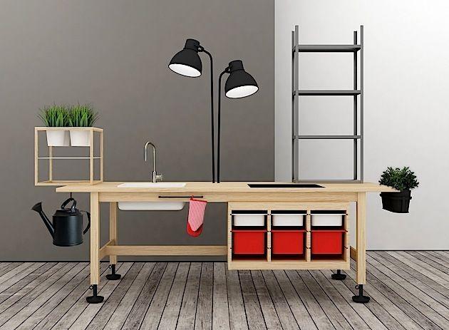 ikea k che mal anders wer diese ikea k che bei ikea sucht wird wohl nicht f ndig werden. Black Bedroom Furniture Sets. Home Design Ideas