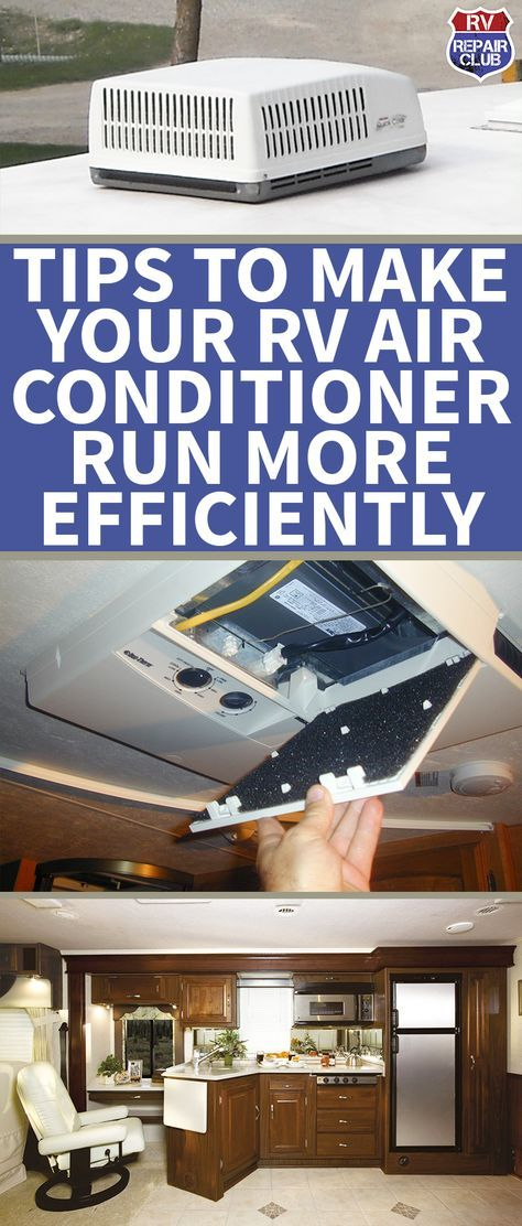 Tips to Make Your RV Air Conditioner Run More Efficiently