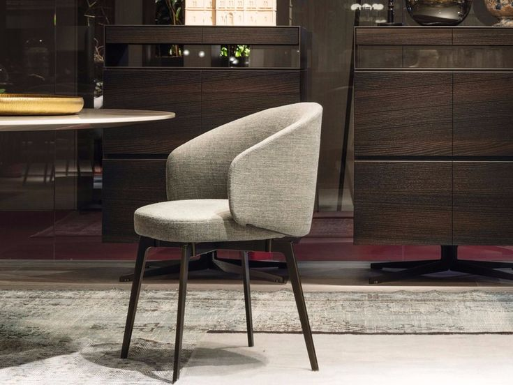 Download the catalogue and request prices of Bea By lema, upholstered fabric chair design Roberto Lazzeroni