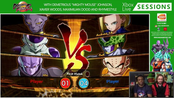 Dragon Ball Fighterz Z Launch Stream ft Maximillian Dood, Xavier Woods a...
