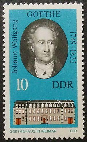 Johann Wolfgang von Goethe 1749-1832 http://es.wikipedia.org/wiki/Johann_Wolfgang_von_Goethe