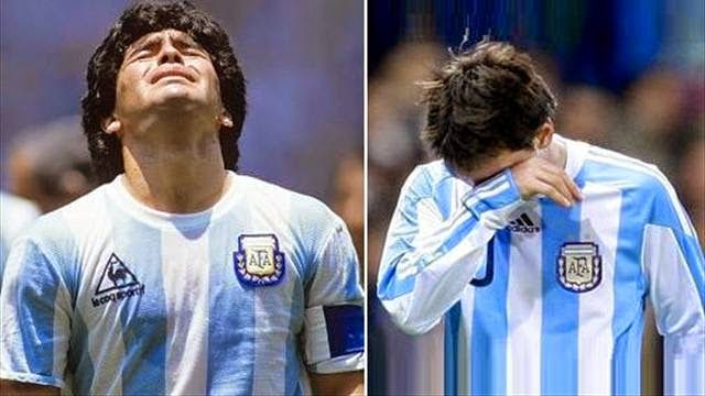 The Legend Lionel Messi: As usual .. German nightmares assassinate Messi dr...