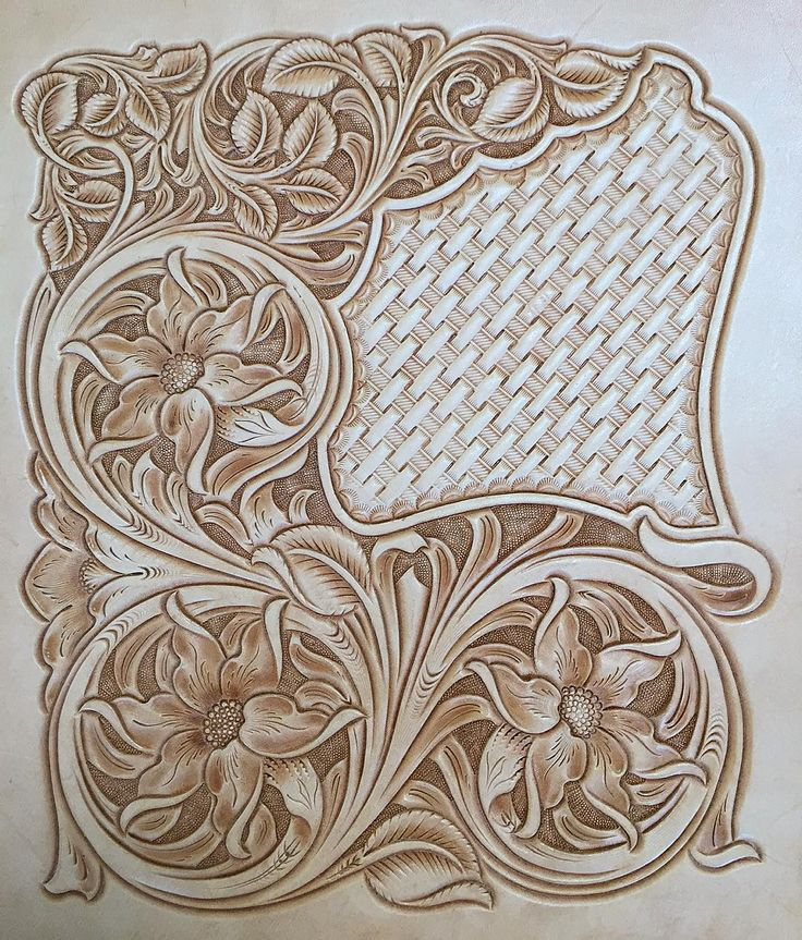 Best ideas about leather tooling patterns on pinterest