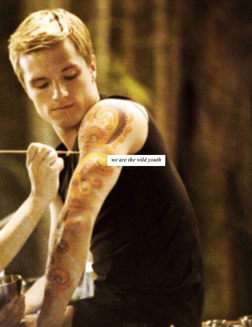 Hunger Games / Catching Fire / Peeta ...