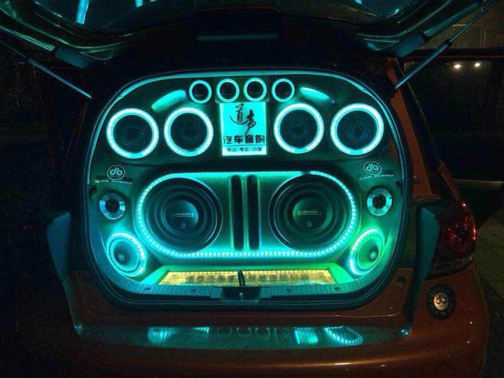 Euphoria car audio Installation from China