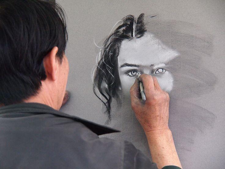 deGranero cursos dibujo, pintura fotografía Madrid. Clases. Academia/taller arte. Bellas Artes. Artes plásticas. Dibujar el rostro.
