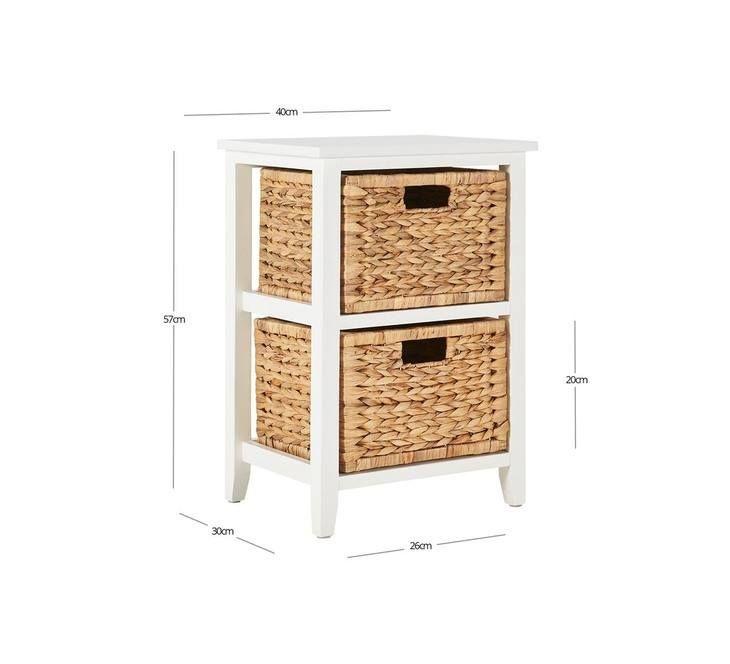 Aruba 2 Drawer Storage Unit Fantastic Furniture Drawer Storage Unit Storage Drawers Storage Unit
