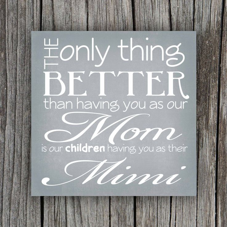 Grandmother Quote Canvas (Mother's Day Gift