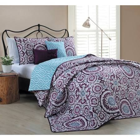 navy blue and purple comforter - Google Search