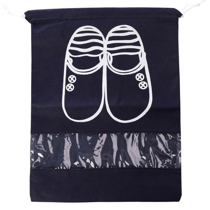 8pcs/set Travel Shoes Bags for Girls Women Dustproof Cover Shoes Bags Non-Woven Fabric Travel Beam Port Shoes Storage Bags B000#