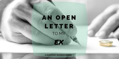 An Open Letter To My Ex-Husband: Thank You