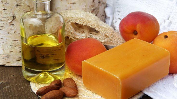 #almonds #apricot kernel oil #apricots #bad #beauty #bio #cores #cosmetics #essential oils #handmade #hands #healthy #loofah #maintain #natural cosmetics #of course #oil #recover #sheeps milk #skin #soap #soap piece #s