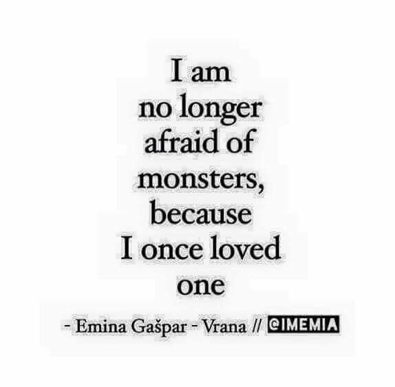 I wish it was just one. Seems to be a pattern for me.  Alone is better. A little scary but nothing like being with a monster.