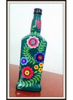 wine bottle Painting