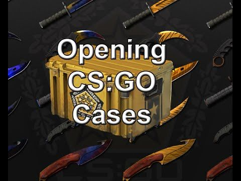 Opening Cases in CS:GO - Exciting Stuff!
