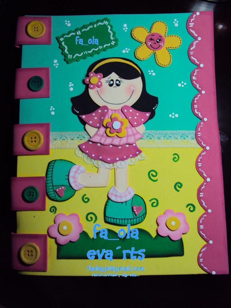 Folder o carpeta decorada portadas para cuaderno for Figuras para decorar techos