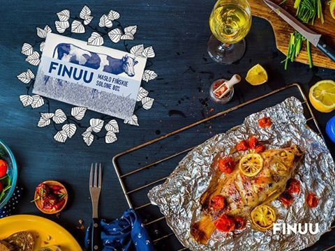 FIŃSKA WSKAZÓWKA: Podkreśl smak rybnego dania i podsmaż je na solonym maśle FINUU. Na koniec dodaj plastry cytryny i świeżo zmielony pieprz. Smacznego! 🐠 🐠 #finuu #tips #porady #kulinarne #fish #ryba