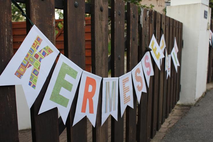 Kermesse 10 ans - avec de jolis papiers de scrap