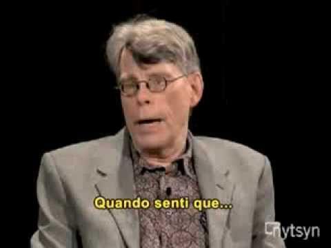 """STEPHEN KING (LEGENDADO, """"DICAS PARA SER UM ESCRITOR"""")"""