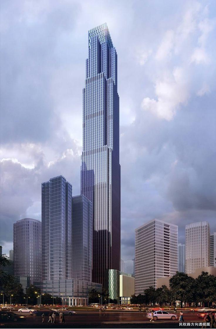 17 best images about skyscrapers shenzhen toronto 431 meters 1414 feet 102 floors chongqing international financial center chongqing