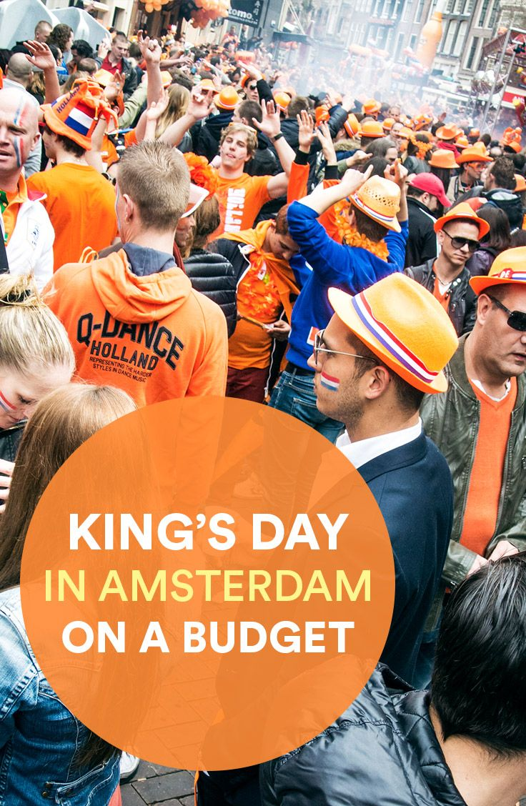 King's Day is, without a doubt, the greatest holiday in the Netherlands, for both locals and tourists. Joining in the celebrations doesn't have to break the bank–here's 5 tips for celebrating King's Day in Amsterdam without killing your wallet.