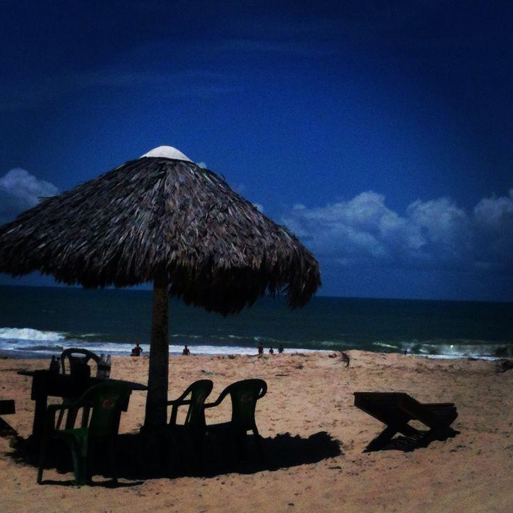 Litoral cearense, Brazil praia Tabuba. Tabuba beach.