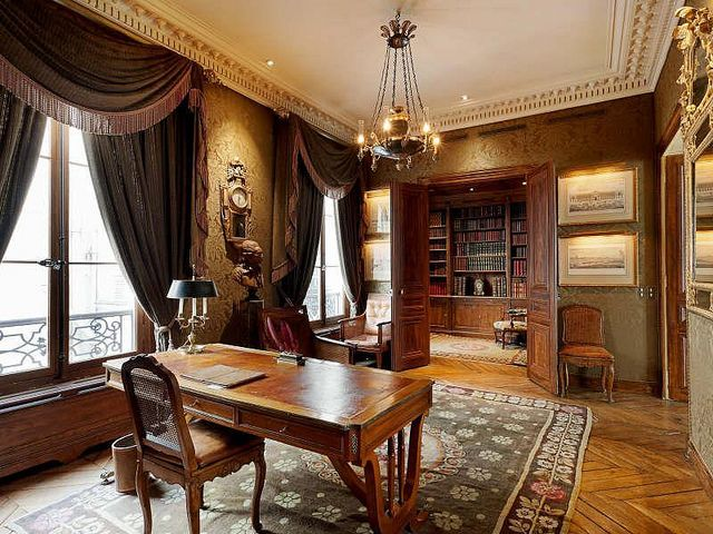gothic office furniture. notre dame apartment victorian office interior style by techpro12 via flickr gothic furniture
