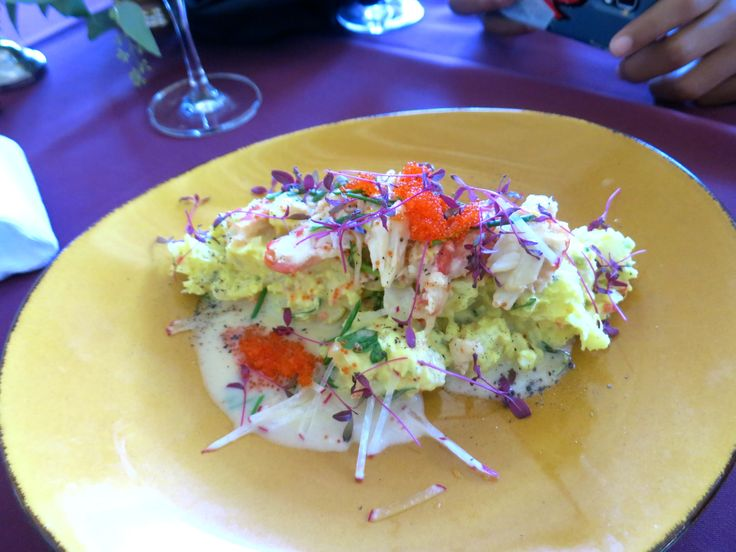 Uptown Uncorked: Chef Roble�s �Mama�s Potato Salad with King Crab Tobiko
