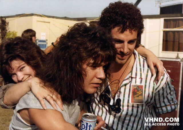 Eddie Van Halen & Neal Schon