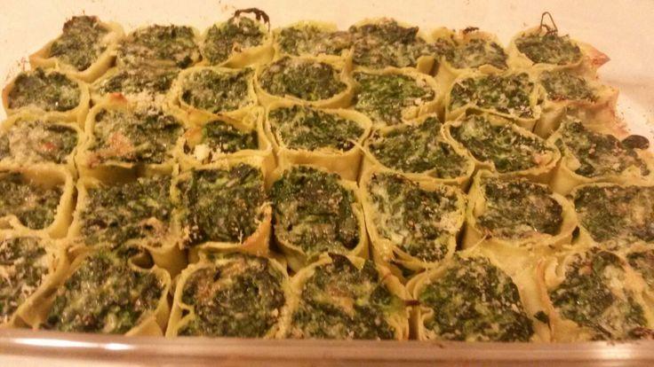 Rotolini ricotta e spinaci