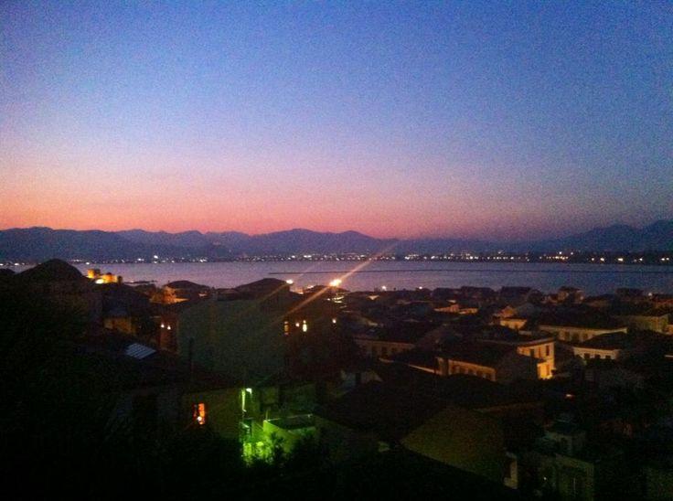 Amazing view as night falls!!!