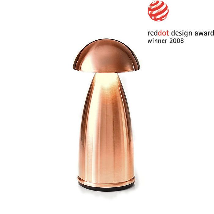 Neoz Owl 1 Cordless Table Lamp Red Dot Design award winner for table lighting rooms