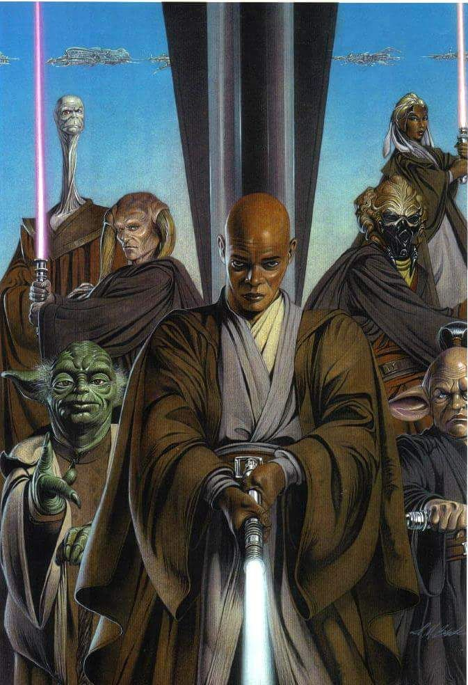 Jedi Council By David Michael Beck Star Wars Star Wars